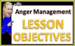 Lesson Objectives for Anger Management Lesson Plan