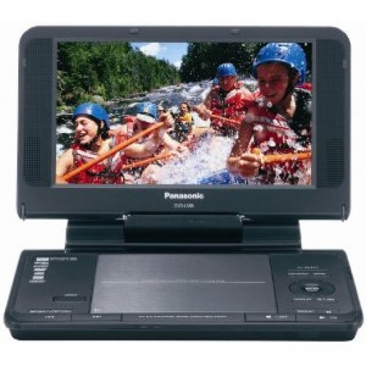 Buy a portable DVD player for kids - Panasonic DVD player