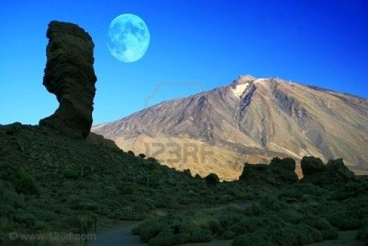Mt Teide - like visiting another world