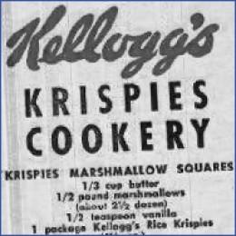 The original Rice Krispies Treats recipe.  www.ricekrispies.com