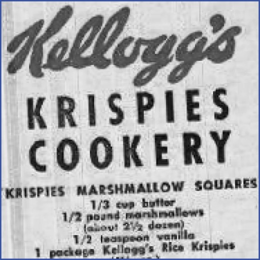 The original Rice Krispies Treats recipe.  www.ricekrispies.com