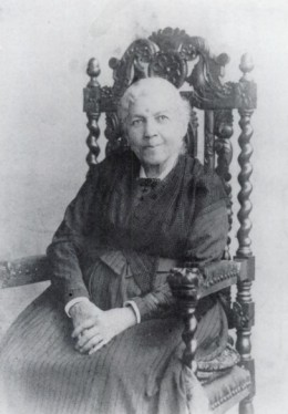 Harriet Jacobs in 1894, three years prior to her death.