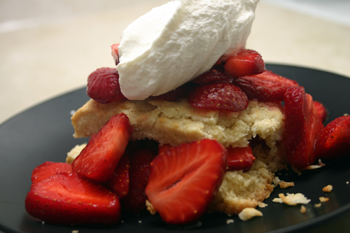 old-fashioned strawberry shortcake