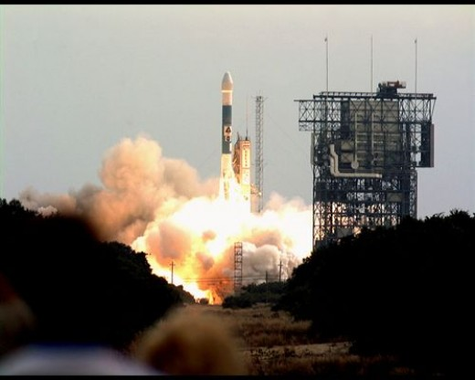 Odyssey launched on Boeing's Delta II 7925