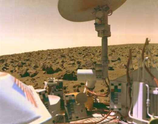 Viking 2 on Mars' Utopian Plain