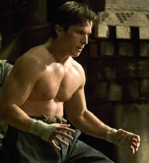 "Christian Bale ""Batman Begins"""