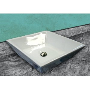 Vessel sinks come in an array of different shapes.
