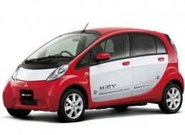 The Mitsubishi I-Miev. What an eyesore!