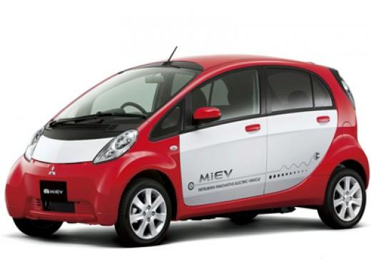 The Mitsubishi I-Miev. What an eyesore!