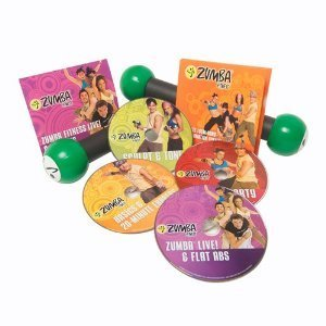 Zumba Fitness Workout DVD's