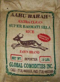 Aahu Barah Rice. My favourite.