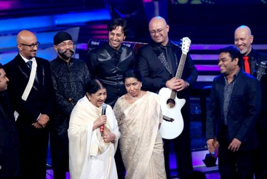 Sisters Lata Mangeshkar and Asha Bhosle wore white at a recent award function. Whatever your age, white is one colour in which you will look elegant.