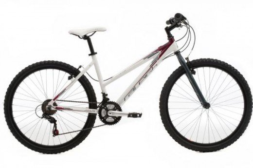 Raleigh All Terrain 05 Ladies Sport Mountain Bike 2011 - White