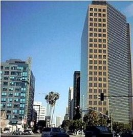 Miracle Mile section of Wilshire Boulevard, Los Angeles, where a miracle occurred in 1977.