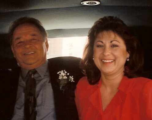 Me and my sweetie on our wedding day!