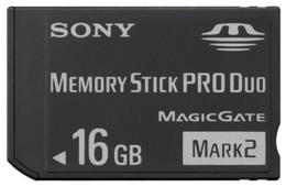 Sony 16 GB Memory Stick PRO Duo