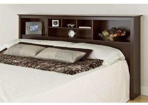 Monterey Storage Headboard - Espresso (King)