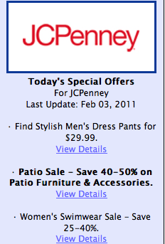 JCPenney Discount Coupons and Promo Codes for great shopping experience....