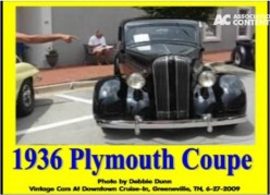 Ask DJ Lyons: 1936 Plymouth Coupe