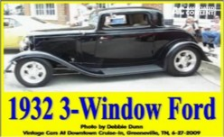 Ask DJ Lyons: 1932 3-Window Ford