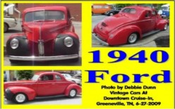 Ask DJ Lyons: 1940 Ford Car