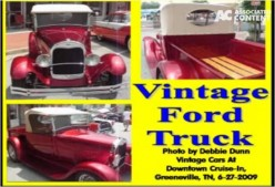 Ask DJ Lyons: Vintage Ford Pick-Up Truck in Red
