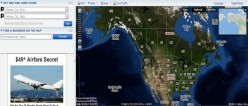 Using Yahoo Maps  for Satellite Images and Street Location