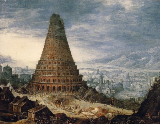 The Tower of babel - the seat of all confusion