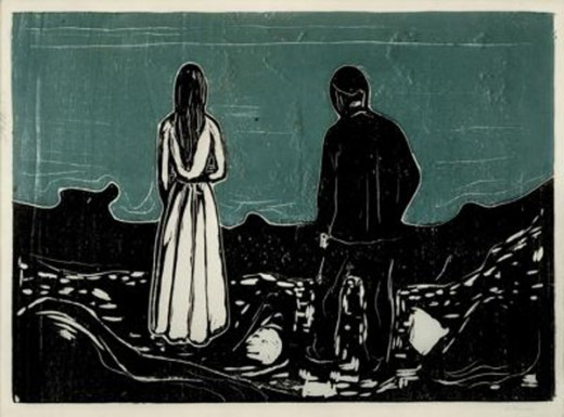 Edvard Munch...Two People