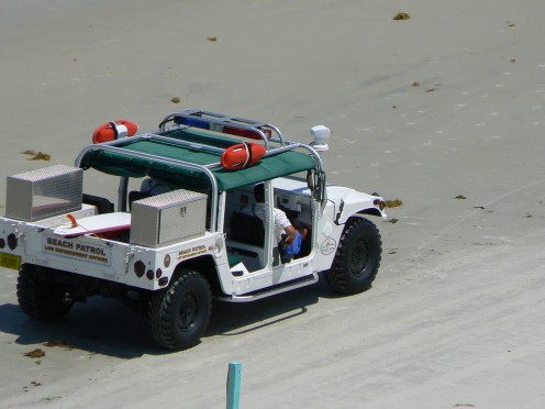 Picture of beach patrol at Daytona Beach