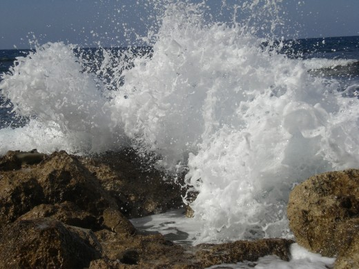 Any water that has waves can have dangerous riptides.