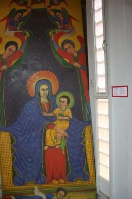 Ethiopia African potrayal of Jesus