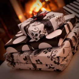 Say no to expensive gifts, yes to giving of yourself.