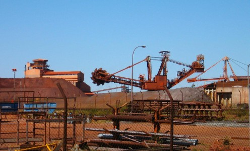 Our first impression of Hedland is of an industrial wasteland