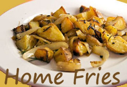 Stir up some home fries in bacon drippings with onions. Yum, Yum!