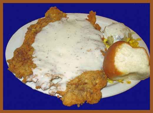 Real Texas Chicken Fried Steak!