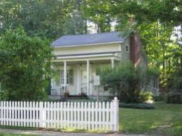 The Fillmore home, Aurora, New York.