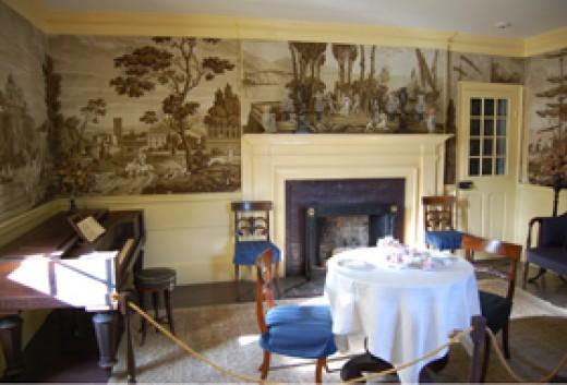 Interior, Franklin Pierce's home