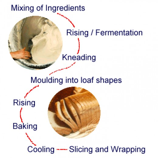 Bread Making Process