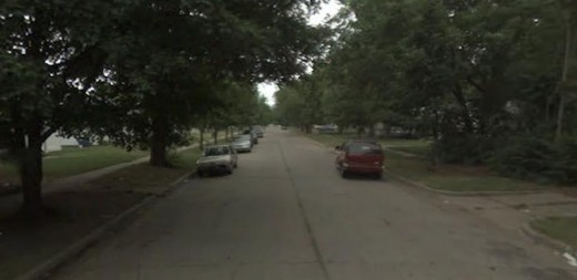 This tree lined street in E. Wichita is where Nancy Fox's home was at the time of her death. Her murder was the last known committed by Dennis Rader for several years.
