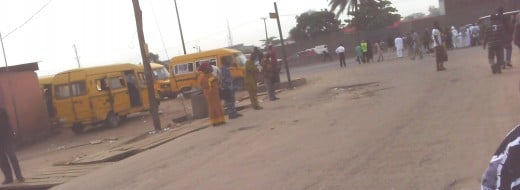 The popular Lagos Yellow Buses( A common sight): You should have a ride in one of them