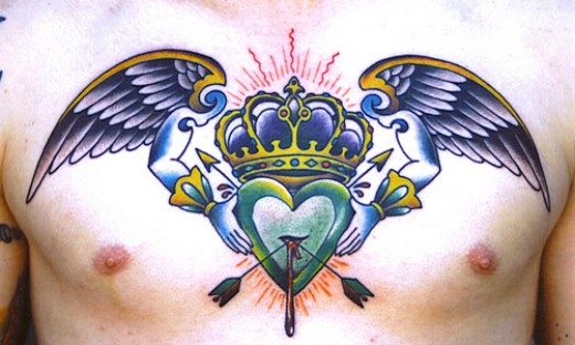 Whether they signify passion, loss, or love, heart tattoos have been around