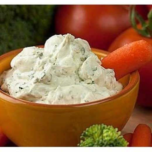 Veggies and dips are great for picnics!
