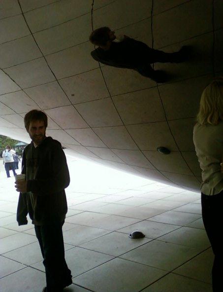"""The Bean,"" Millennium Park, Downtown Chicago, Illinois"