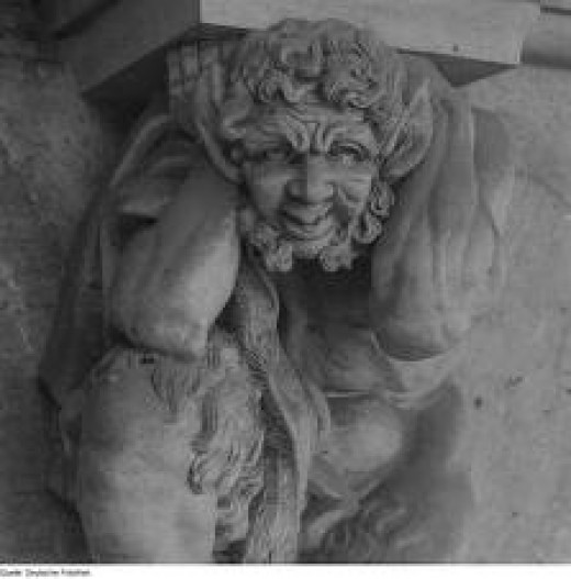 Statue of a Faun