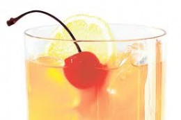 Whiskey sour is a popular cocktail.