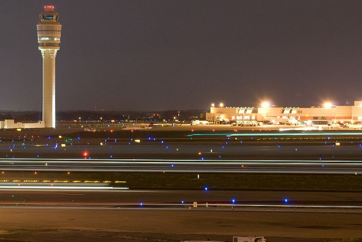 Hartsfield Airport - The World's busiest airports by passenger traffic as well as the World's Busiest Airport by Aircraft Traffic.image credit: Omoo, Wikimedia commons.