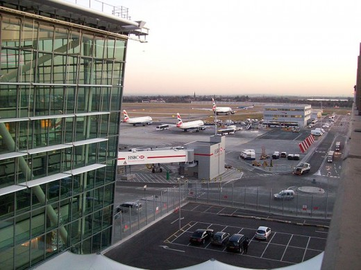 London Heathrow Airport - the World's Busiest Airports by International Passenger Traffic, image credit: Dbx54, Wikimedia commons.