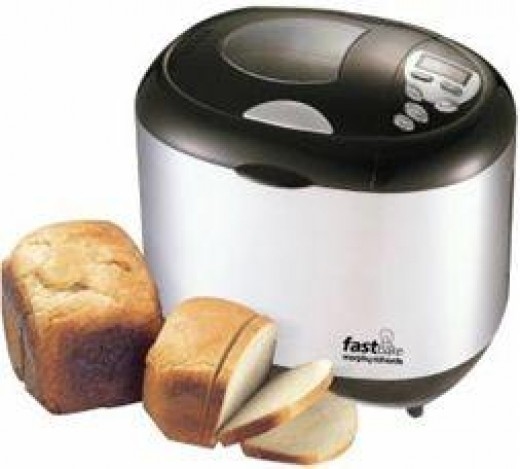 Bread Maker with Homemade Bread