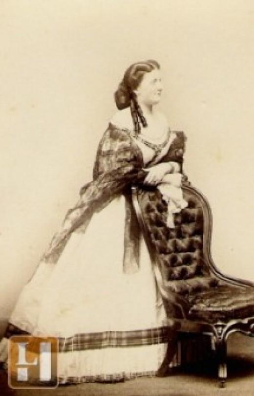 The London era, about 1855.